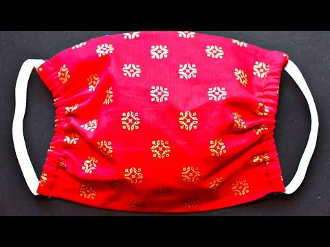 Face Mask Sewing Tutorial - How To Sew A Face Mask - Easy Cloth Face Mask For Beginners - YouTube
