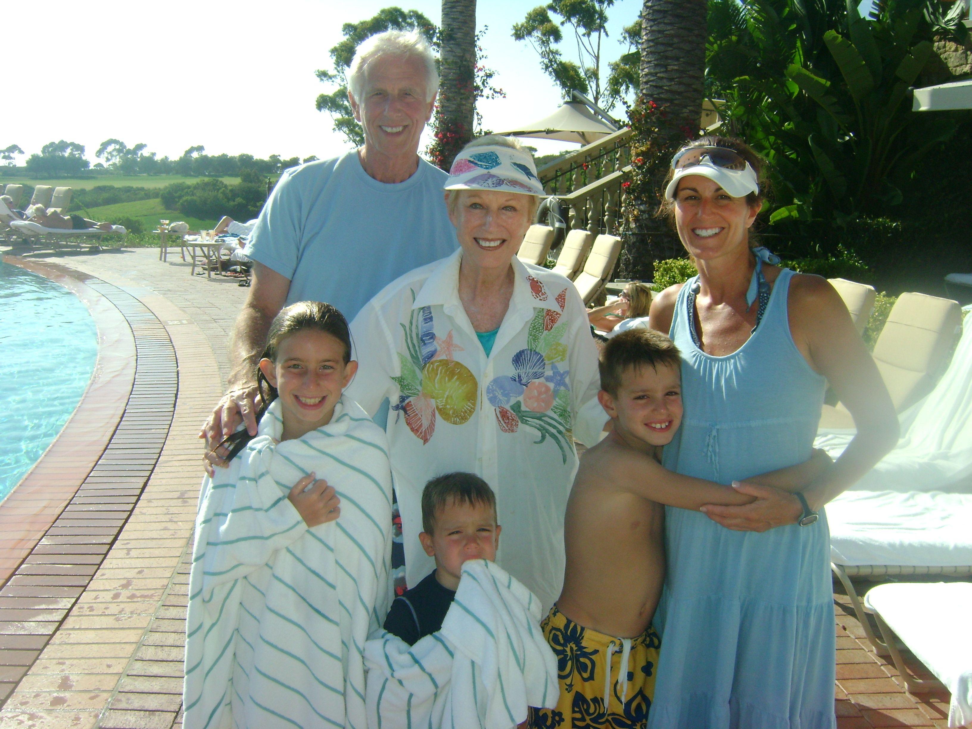 Three generations making memories that will last a lifetime at Pelican Hill | www.pelicanhill.com |The Resort at Pelican Hill, Newport Beach, CA | #pelicanhillresort #family #memories