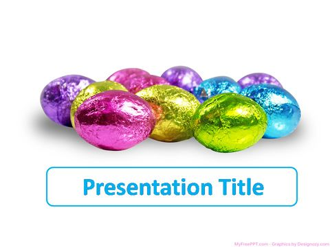 Easter PowerPoint Template Power point templates Templates, Ppt