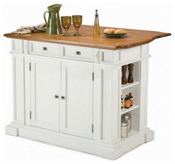 Portable Kücheninsel holz glas idee | kitchen | Pinterest ...
