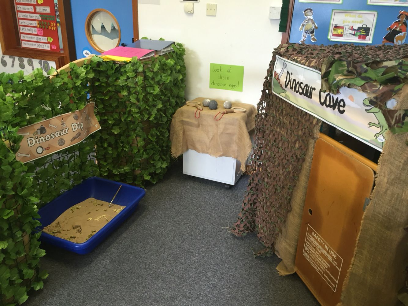 dinosaur cave role play area role play areas