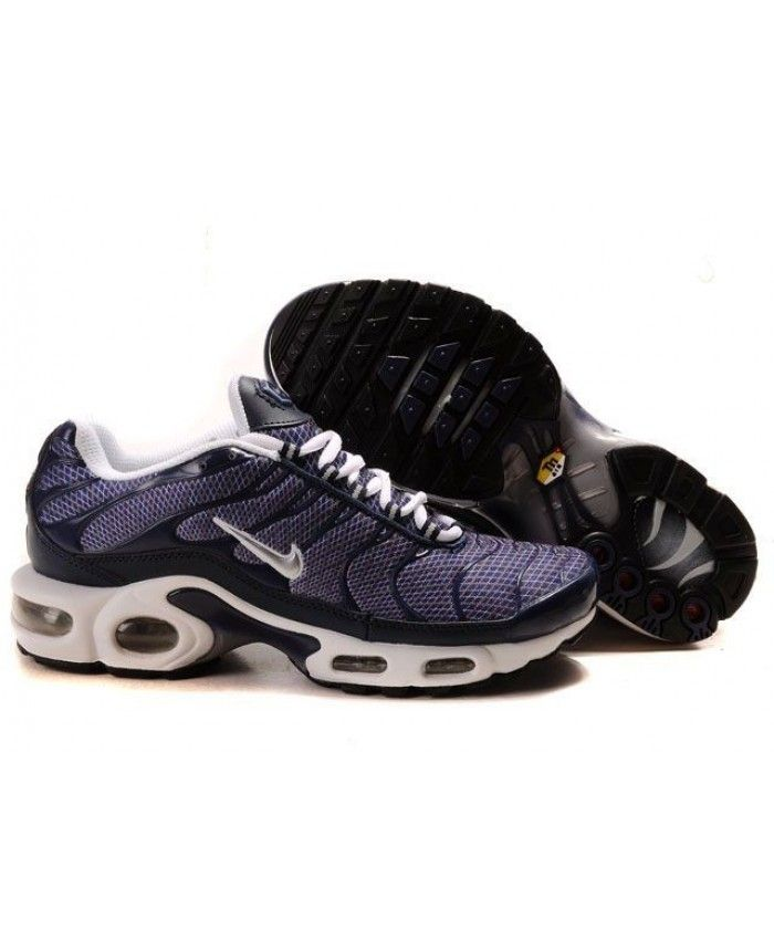2016 nike air max tn mens trainer black silvery purple sale