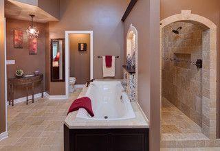 i like the hidden shower. not a big fan of glass showers