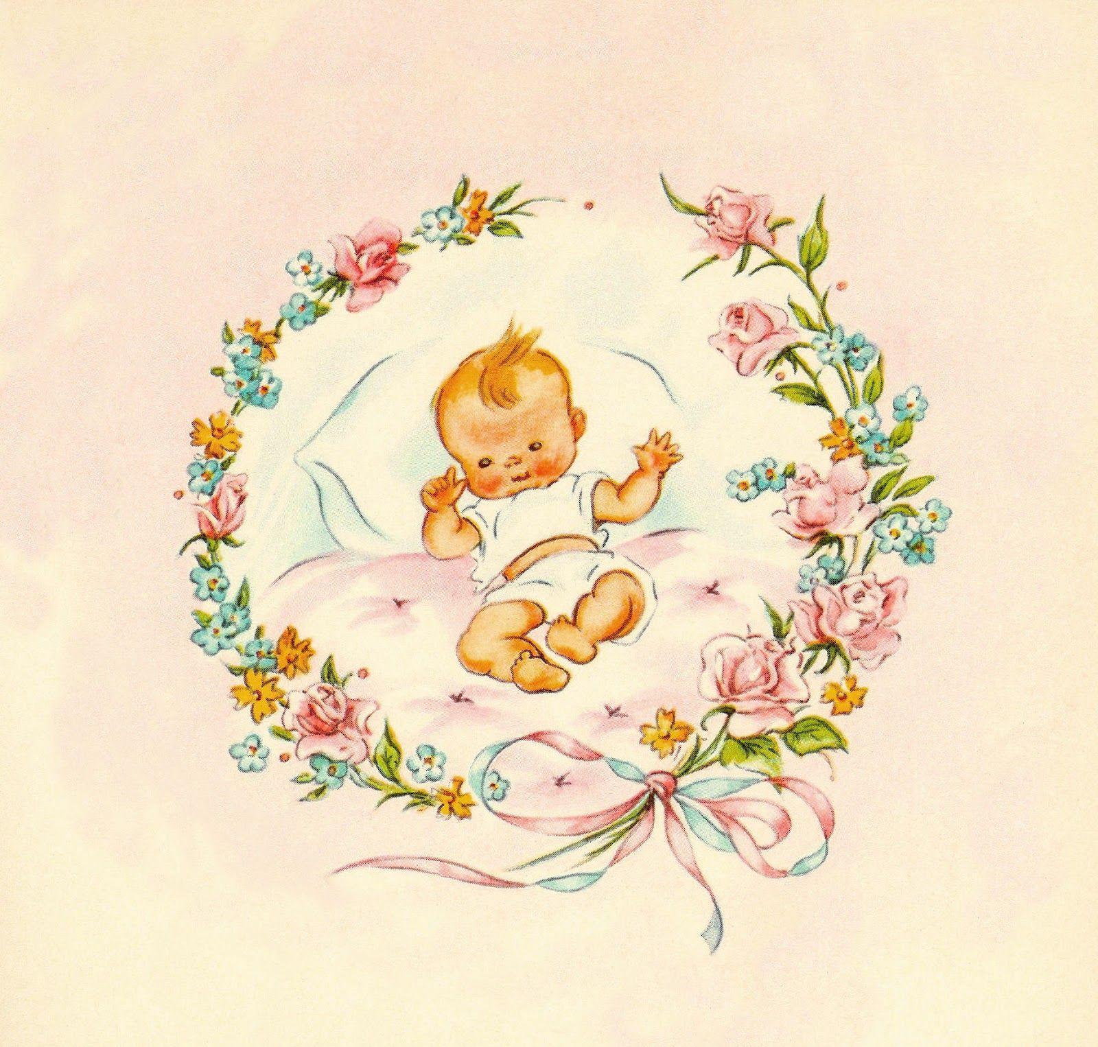 Vintage Baby Shower Ideas Clipart Vintage Baby Clip Art