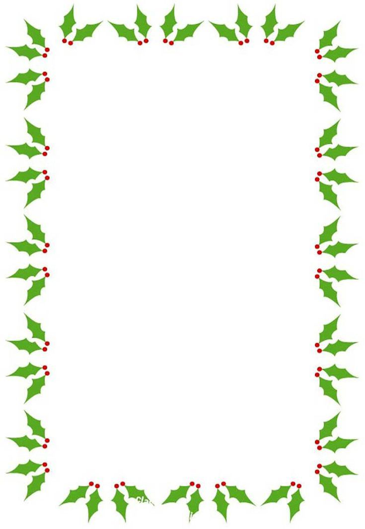 Tactueux image regarding free printable christmas borders