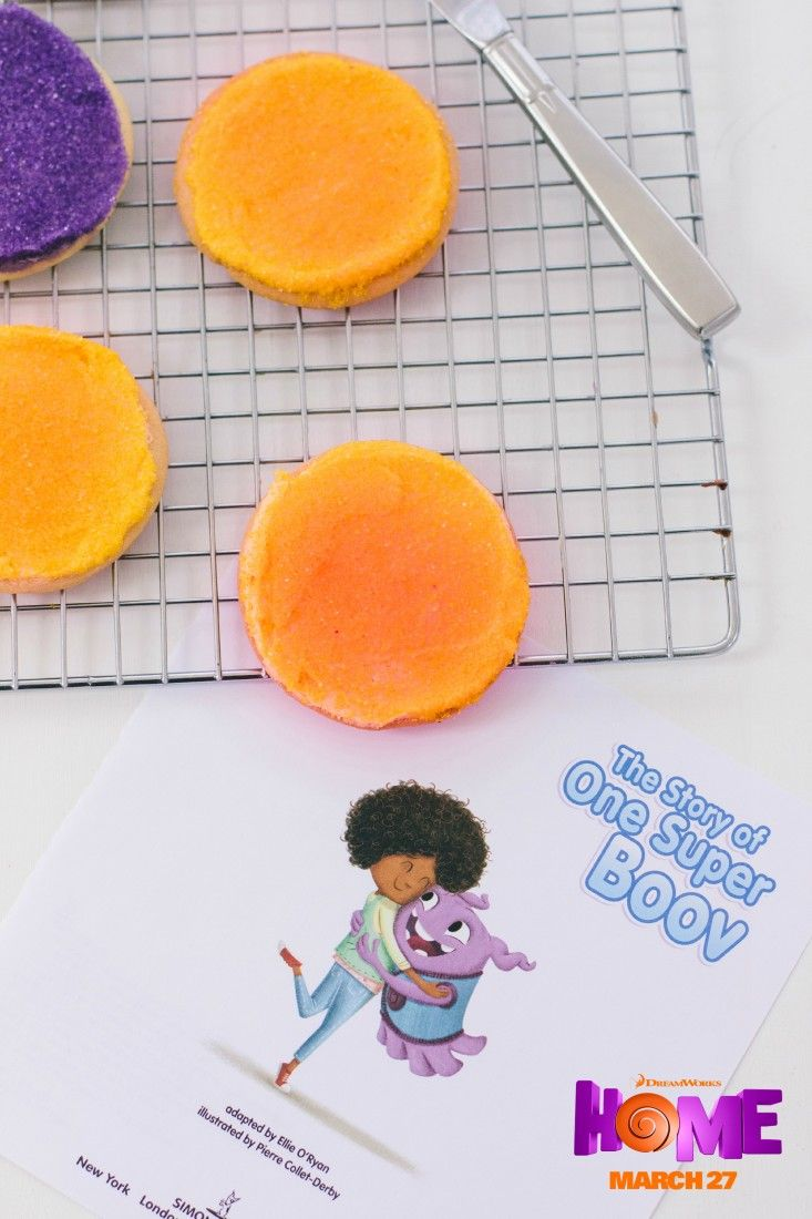 Sugar cookies inspired by the movie Home. Sponsored by DreamWorks ...
