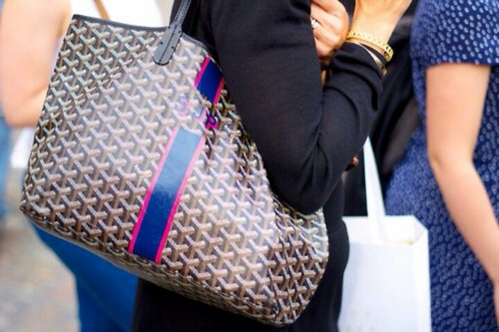 Goyard Bag Monogram And Personalization Is A Must