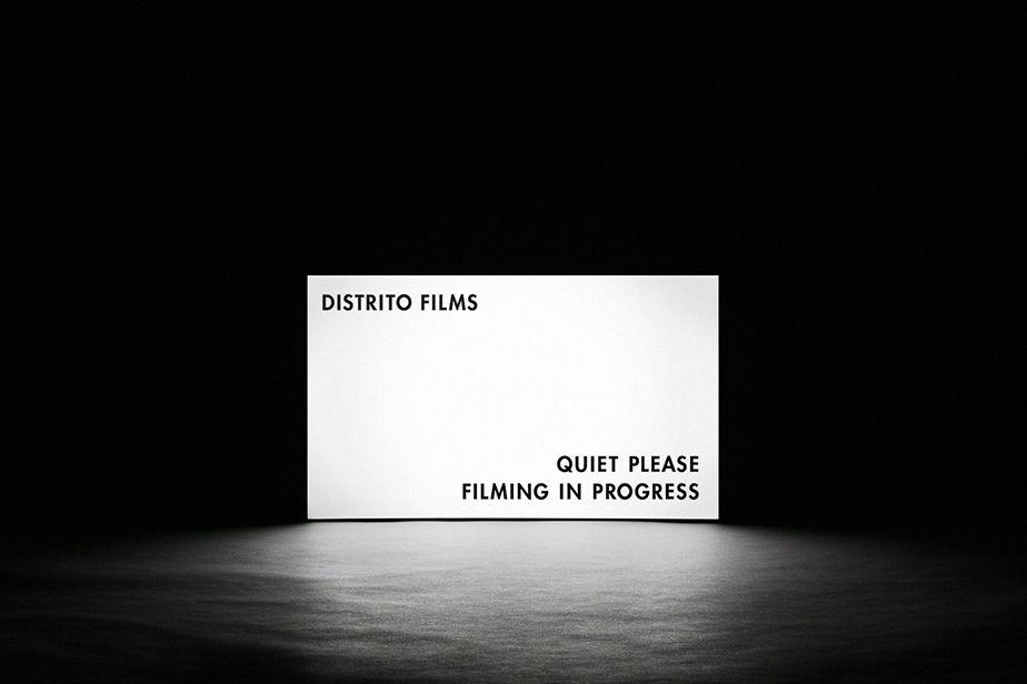 Distrito Films. Branding by www.anagrama.com