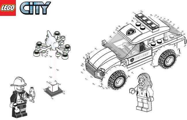 Coloriage Lego City A Imprimer 1 Photo Party Pinterest Lego