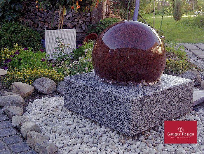 Kugelbrunnen Granit Sonnenschein 15cm | Brunnen | Pinterest ...