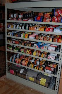 Mormon Food Storage Impressive Prepared Lds Family Pictures Of Food Storage Shelves Pantries And Review