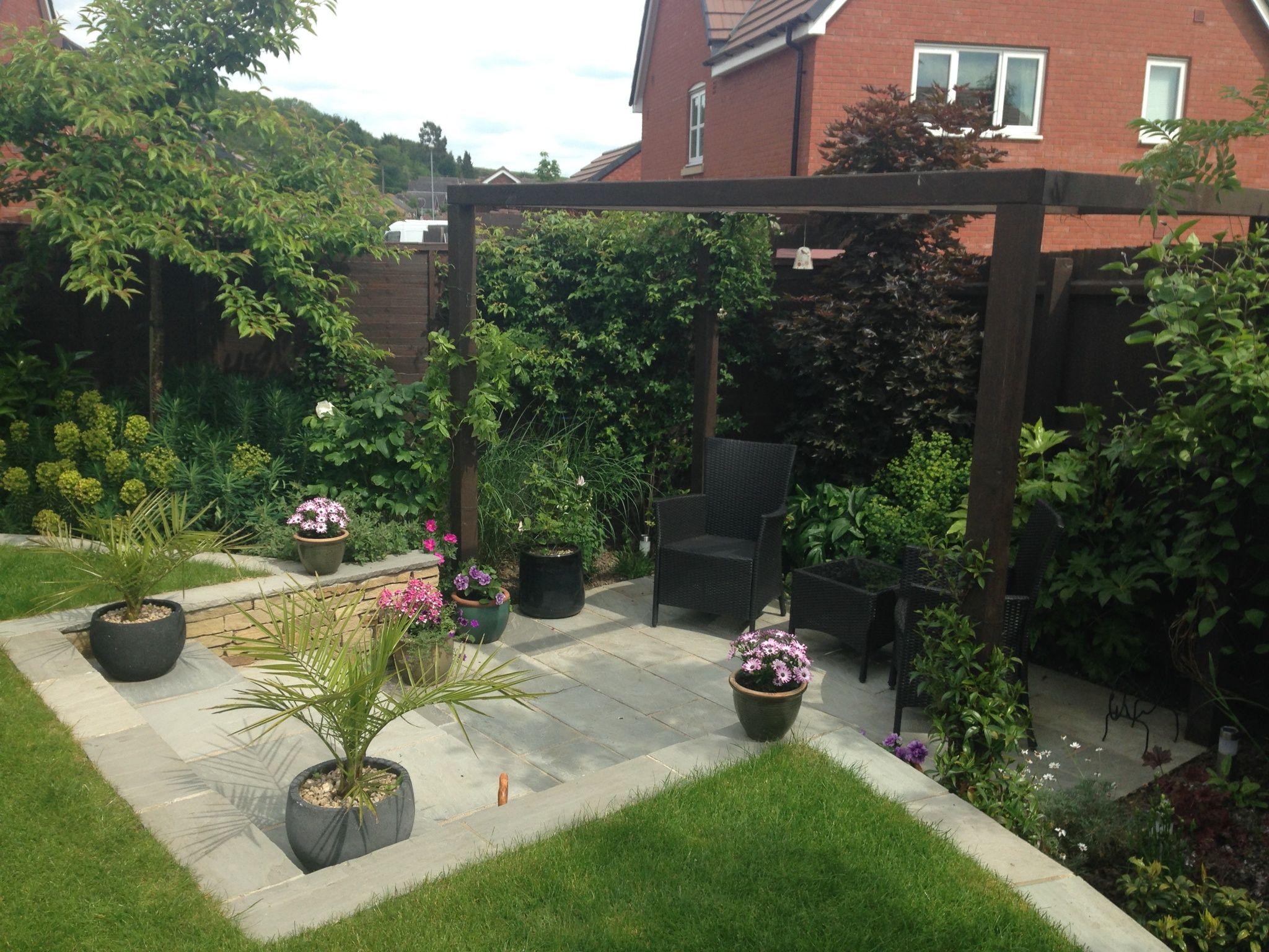 GOSCOTE DESIGN PRACTICE. Small garden, new build ...