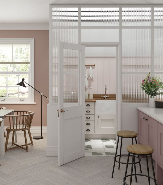 How To Hide Bathroom Off Kitchen Google Search In 2020 Utility Room Designs Small Utility Room Modern Farmhouse Living Room Decor