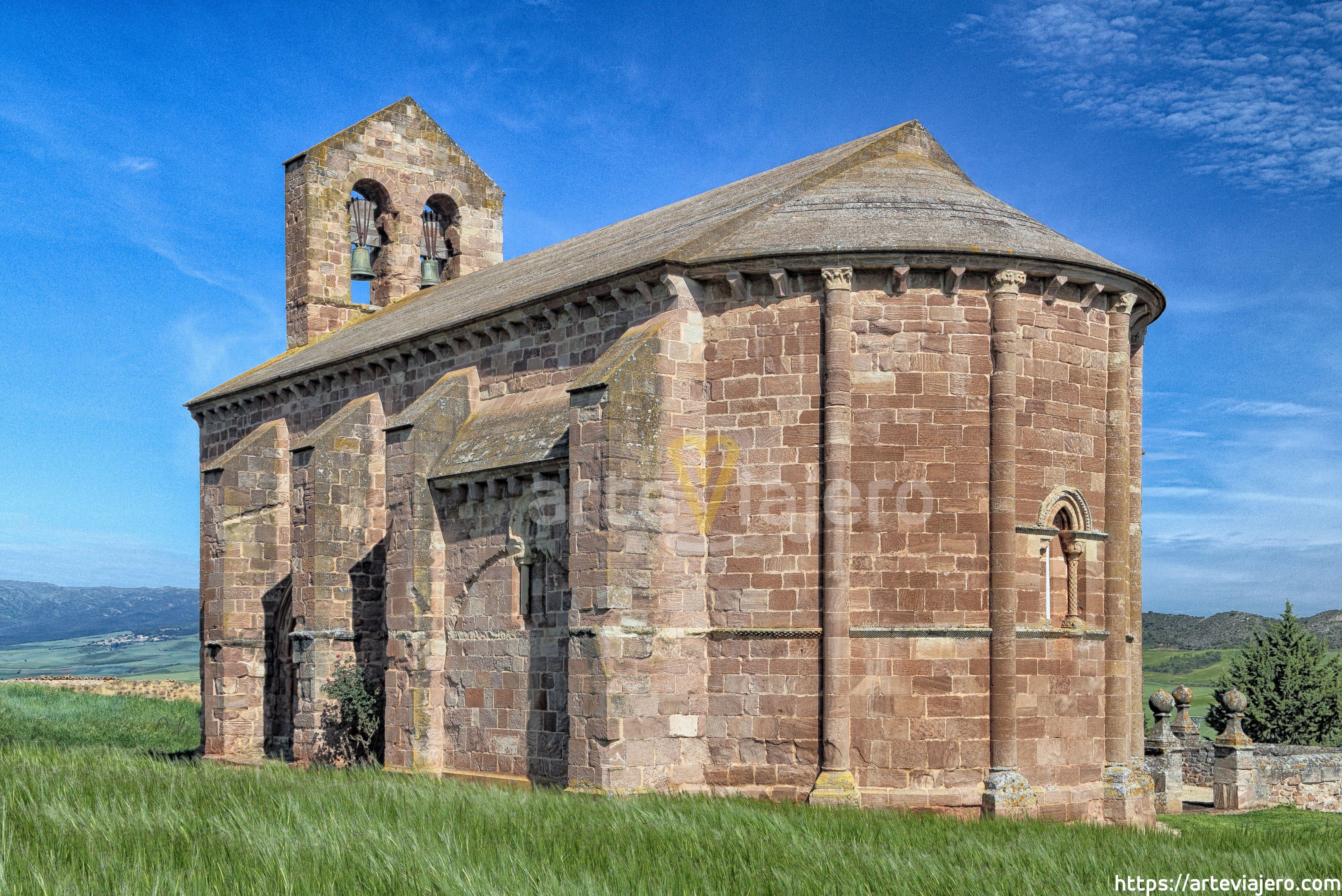 Iglesia De San Andrés S Xiii Learza Navarra Arquitectura Romana Iglesia Románica Iglesia