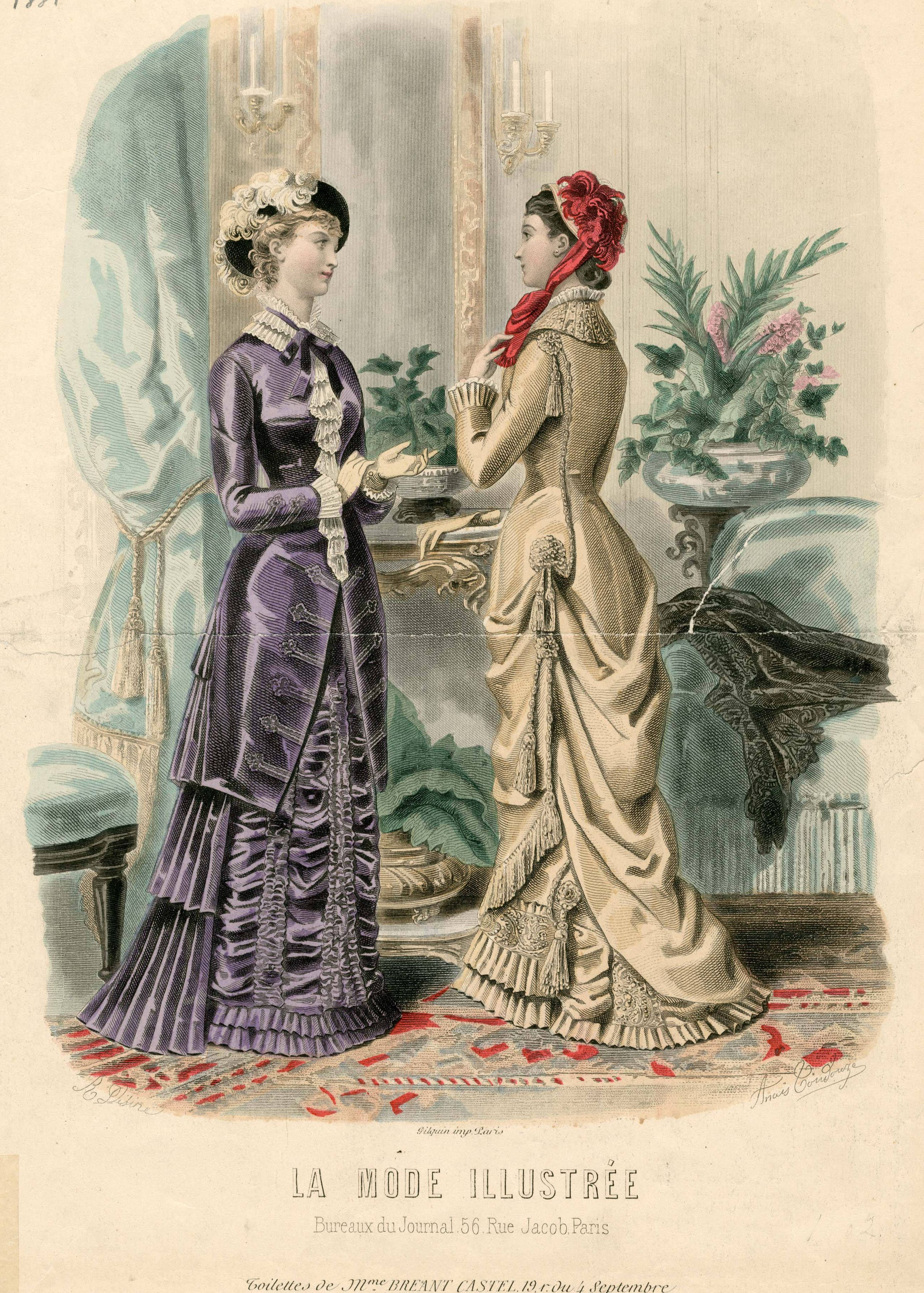 La Mode Illustrée 1881