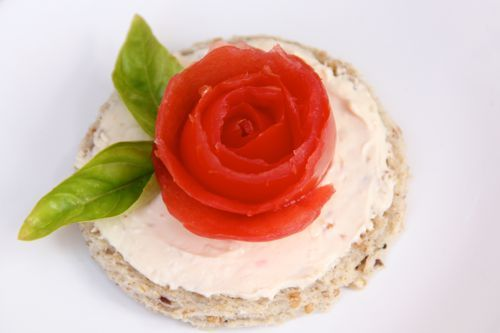Heavenly Rose Tea Sandwiches- such a pretty, simple, and tasty idea for a Garden Party:)