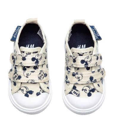 Sneakers | Light beige/Mickey Mouse