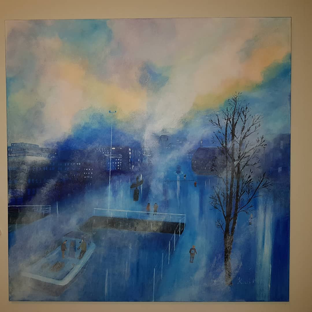 Tromso Tromso Art Artist Akrylmaling Artwork Artgallery Acrylpainting Artlovers Acrylic Maleri Myart Art Painting Blogspot