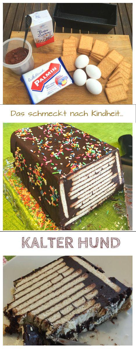 Kalter Hund - Kekskuchen nach original DDR-Rezept
