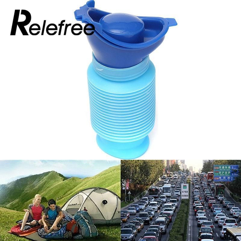 Outdoor Tools Outdoor Portable Male Female Urinal 750ml Kids Car Travel Camping Urination Pee Toilet Bottle Survival Kit