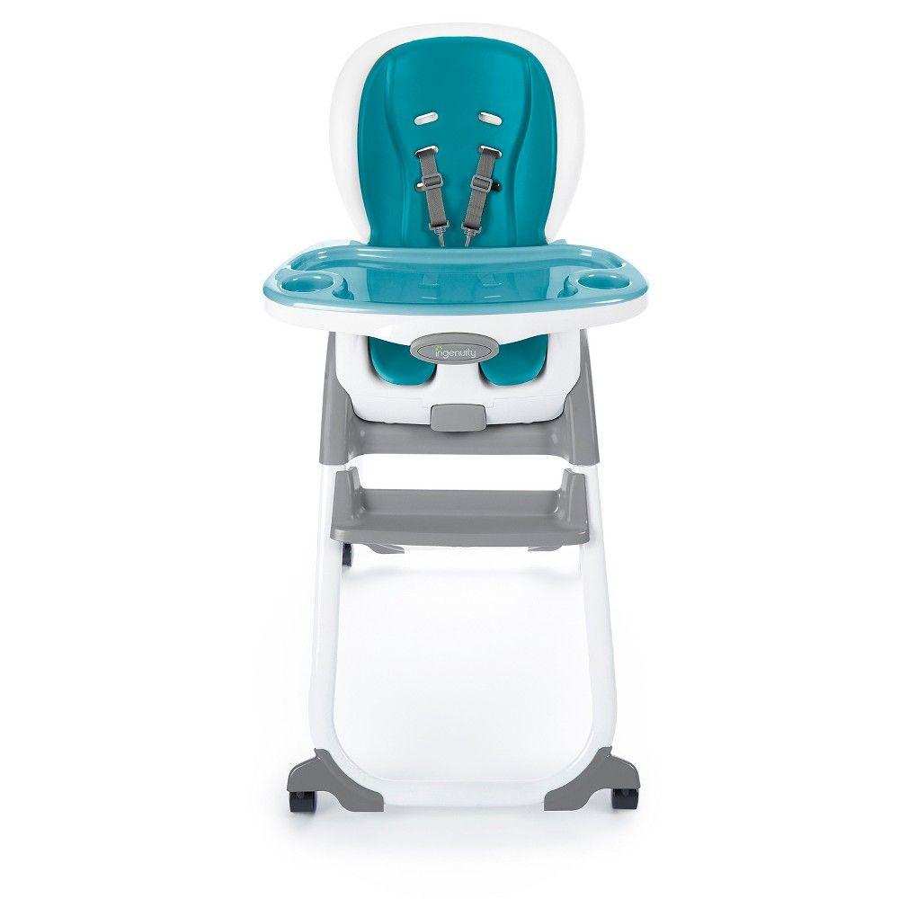 Ingenuity Smartclean Trio Elite 3 In 1 High Chair Aqua Toddler