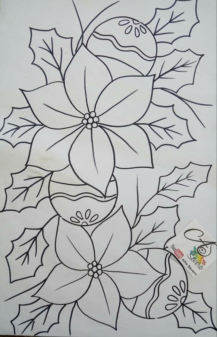 Dibujos Para Cervilletas Pintura En Tela Navidad Pintura En Tela Navidena Dibujos En Tela