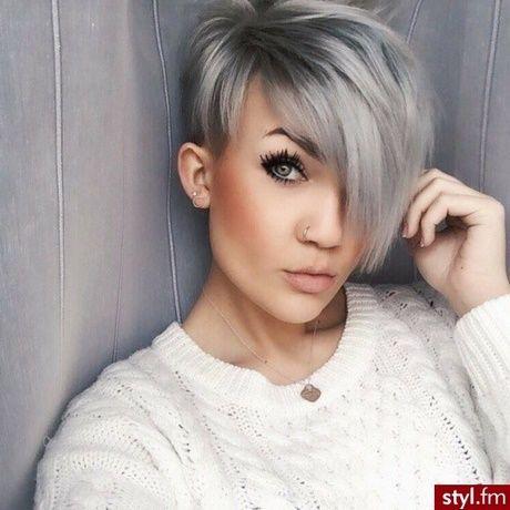 Modne Fryzury Z Krótkich Włosów 2018 Modne Fryzury Damskie