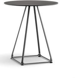 Photo of Pedrali Lunar 5440 bistro table 70 x 70cm white steel white Pedrali