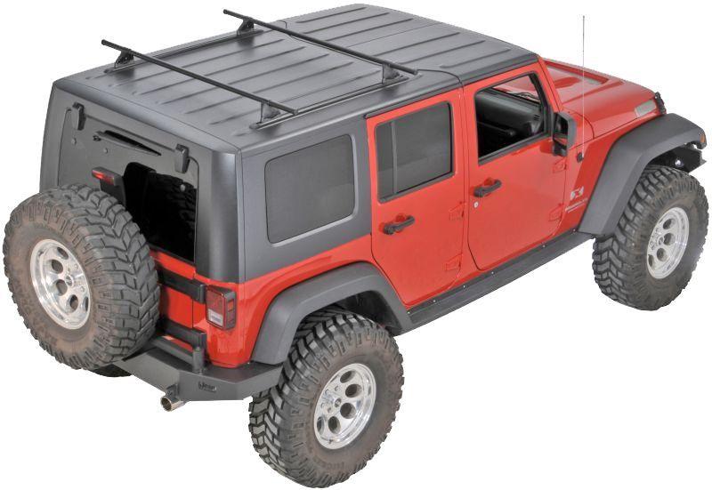 yakima hard top roof track rack jeep