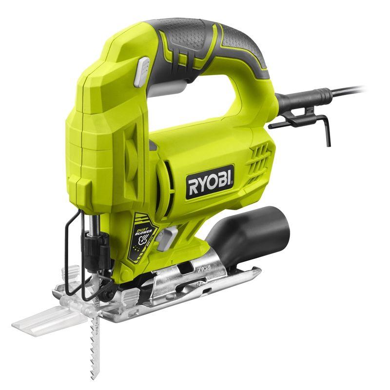 Ryobi 500w 75mm Corded Jigsaw Electric Jigsaw Ryobi Power Hand Tools