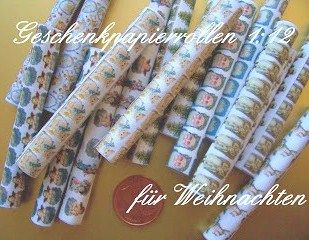 how to: miniature wrapping paper rolls (with printables)