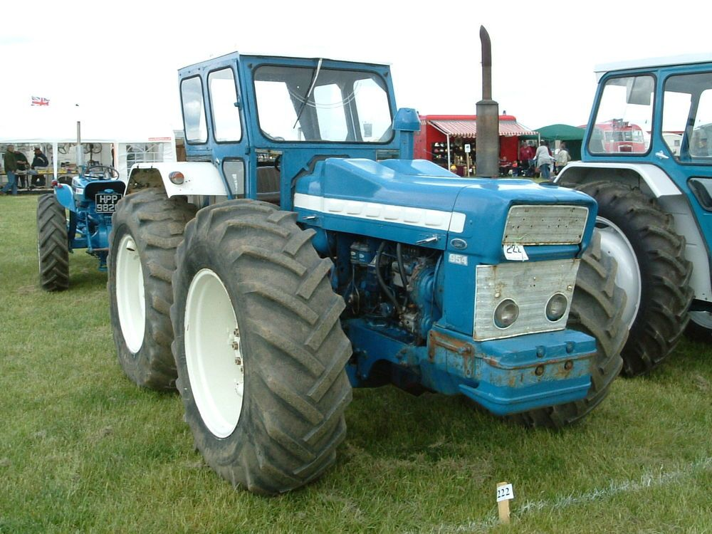 County Commercial Cars Tractors New Holland Tractor County