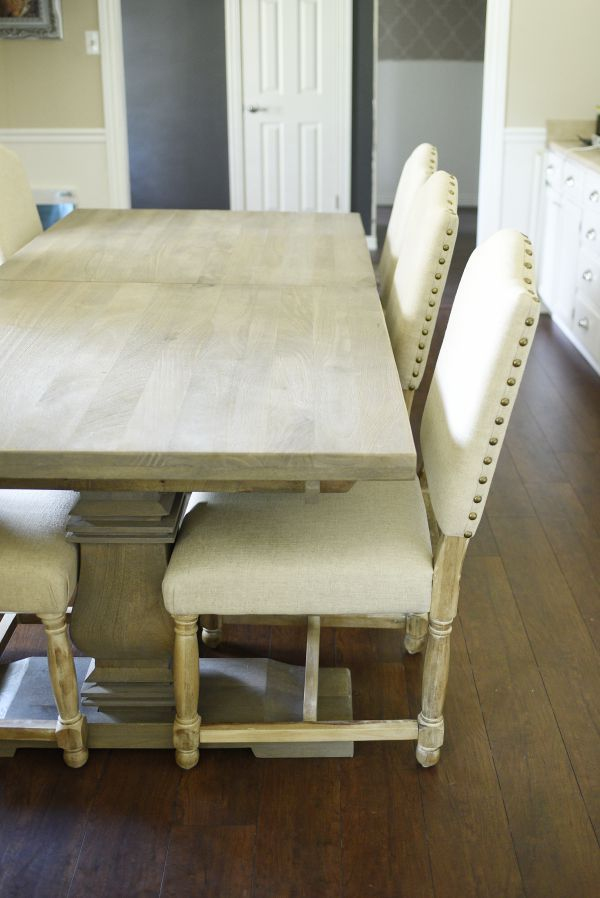 The Aldridge Dining Table Gray Blogger Gives A Full Review Of Everything From Quality