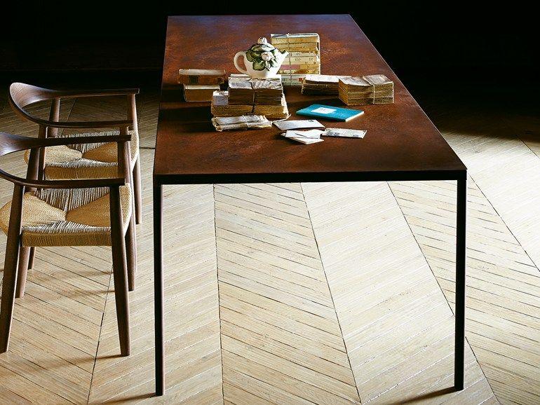 PURE by Colico Tavolo da salotto rettangolare 3 cm di spessore