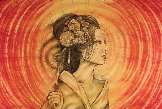 Naru Kami A Japanese Thunder Goddess In Some Accounts This