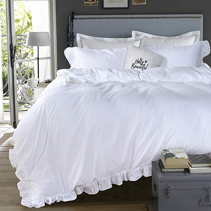Pin By Jill Robben On Future House Room Ruffle Duvet Ruffle