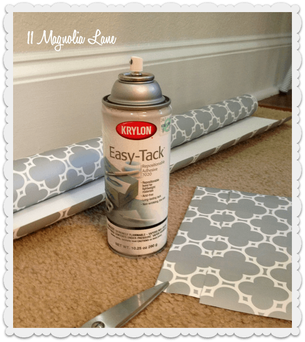 Our New Home--The Powder Room/Guest Bathroom | Shelf liners ...