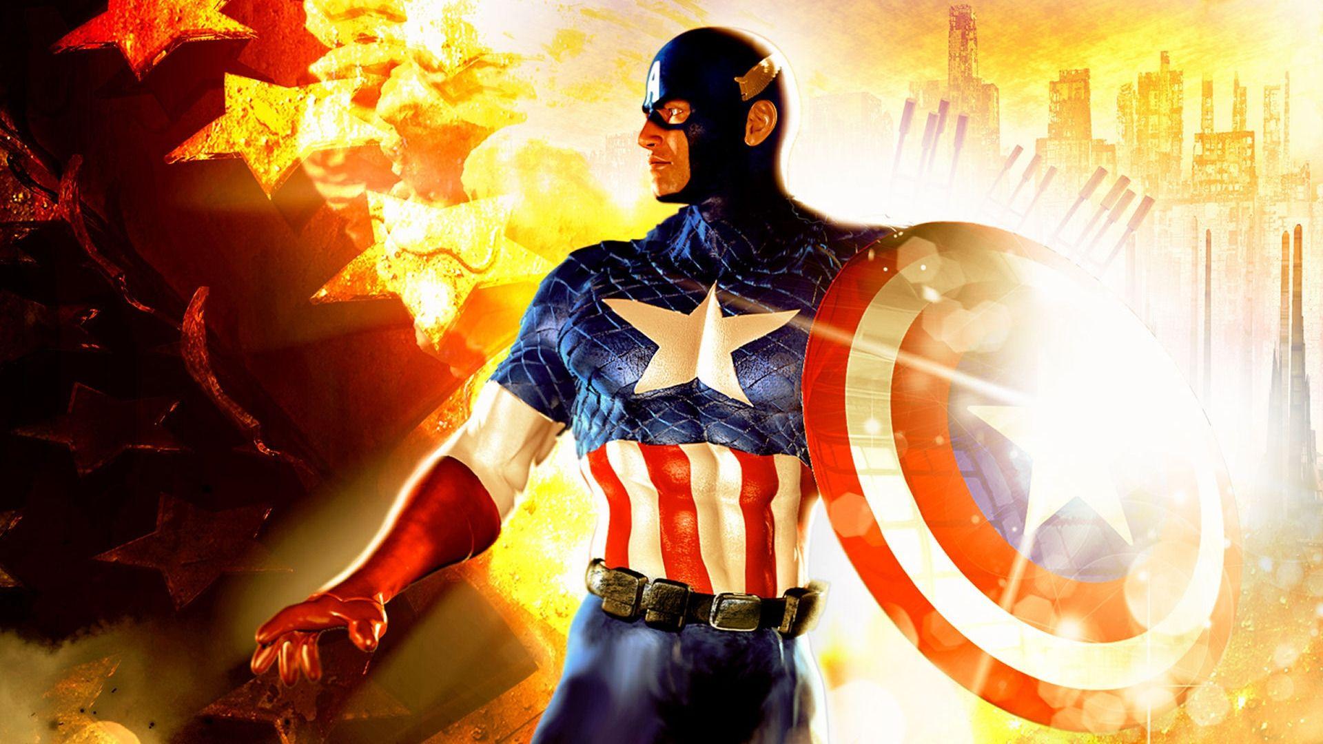 America Wallpaper captain america hd wallpapers free download 1920×1080 captain