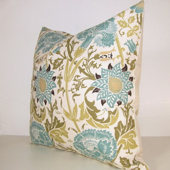 Best Blue Teal Turquoise Decorative Pillow Cover 16X16 12X16 400 x 300