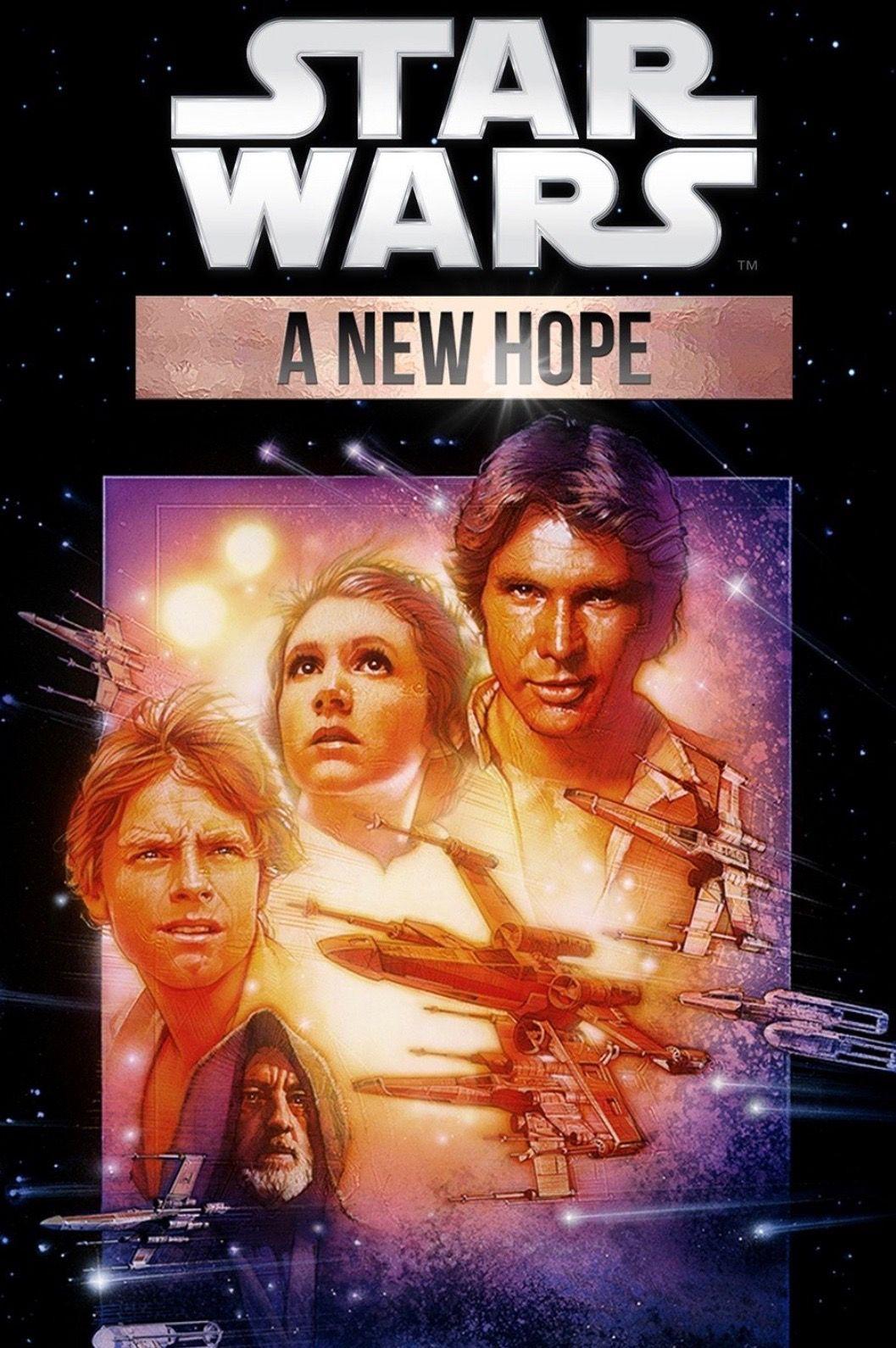 Stars Wars Episode Iv A New Hope 1977 Eine Neue Hoffnung Hoffnung Neue Wege