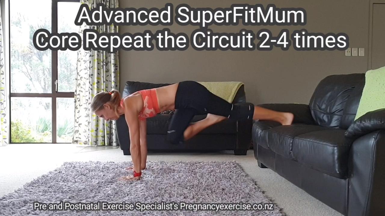 Super Fit Mom Core #goodcoreexercises