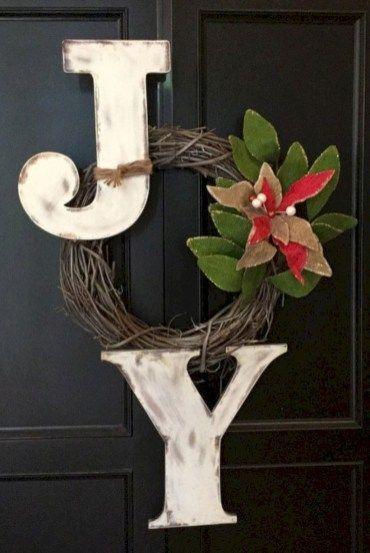 42 Creative DIY Christmas Wreaths Decoration Ideas Home Decoration - christmas wreath decorations