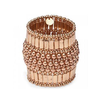 Rose Gold Phillipe Audibert Chunky Bracelets Fashion Fashion