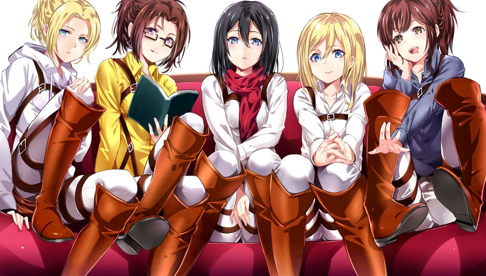 Attack on Titan Girls Fan Art: Shingeki no Kyojin Females | Attack on titan  anime, Attack on titan art, Attack on titan