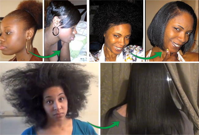 Ladies Who Have Gone Back To Relaxed Hair After Being Natural Relaxed Hair Natural To Relaxed Hair Relaxed Hair Journey