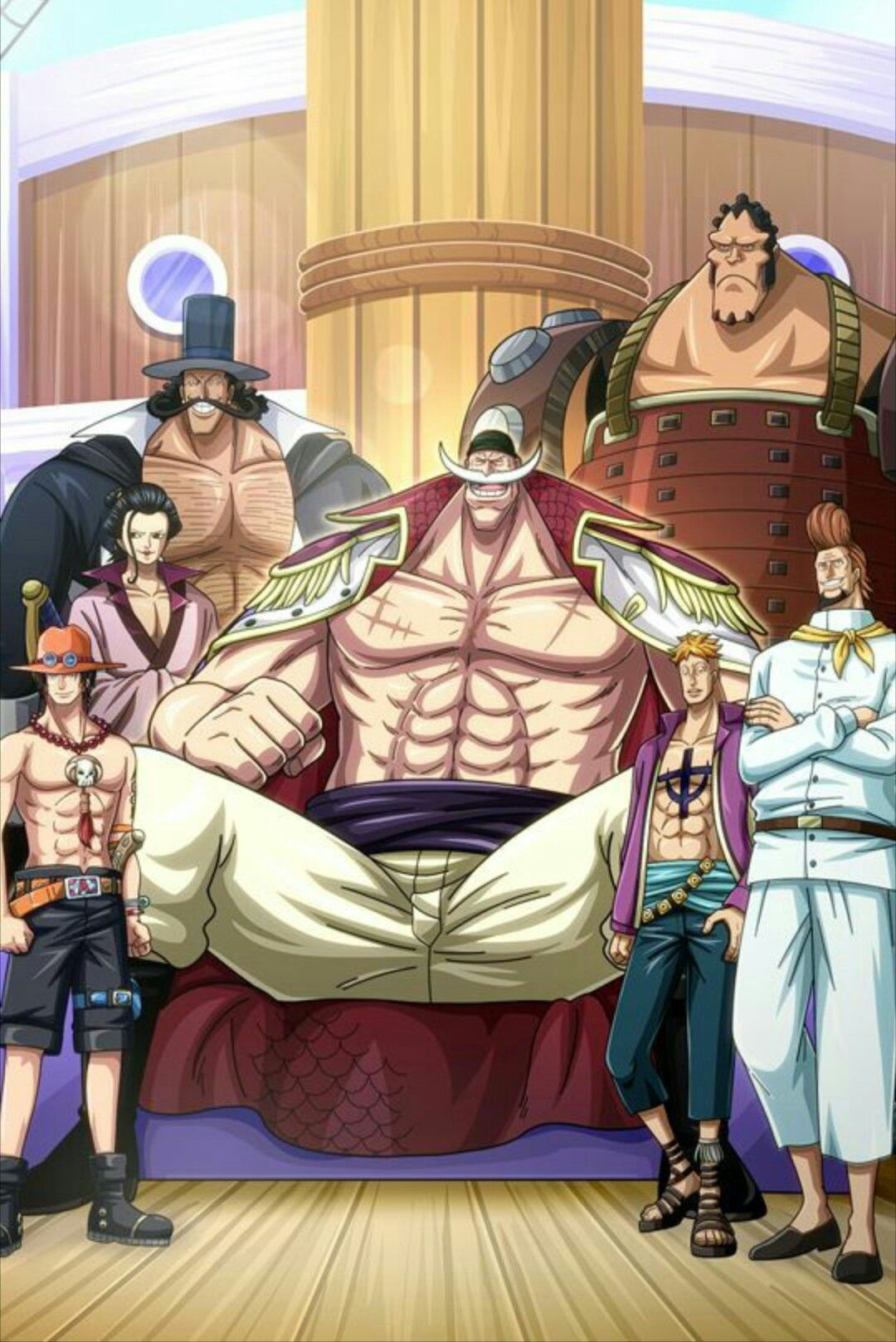 White Beard Family One Piece Onepiece Whitebeard One Piece Anime One Piece Comic One Piece Ace