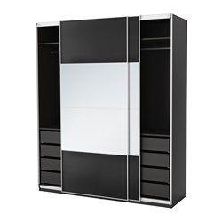 Ikea Armadi E Guardaroba.Pax Guardaroba Componibile Combinazioni Con Ante Ikea Ikea