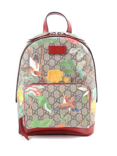 b3d358ef883f GUCCI Gucci Gg Supreme Tian Zaino. #gucci #bags #leather | Gucci in ...