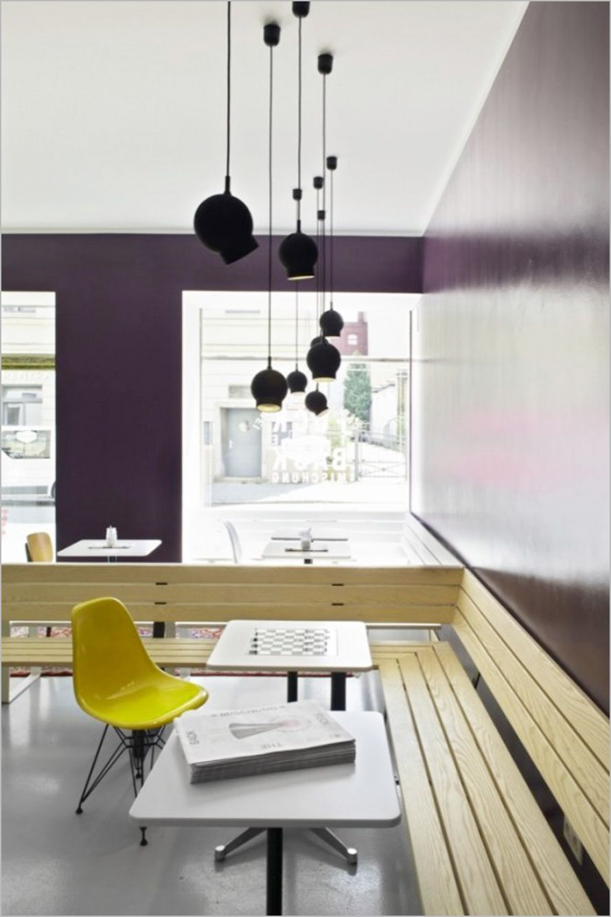 Great Modern Small Cafe Interior Design Ideas, Photo Modern Small