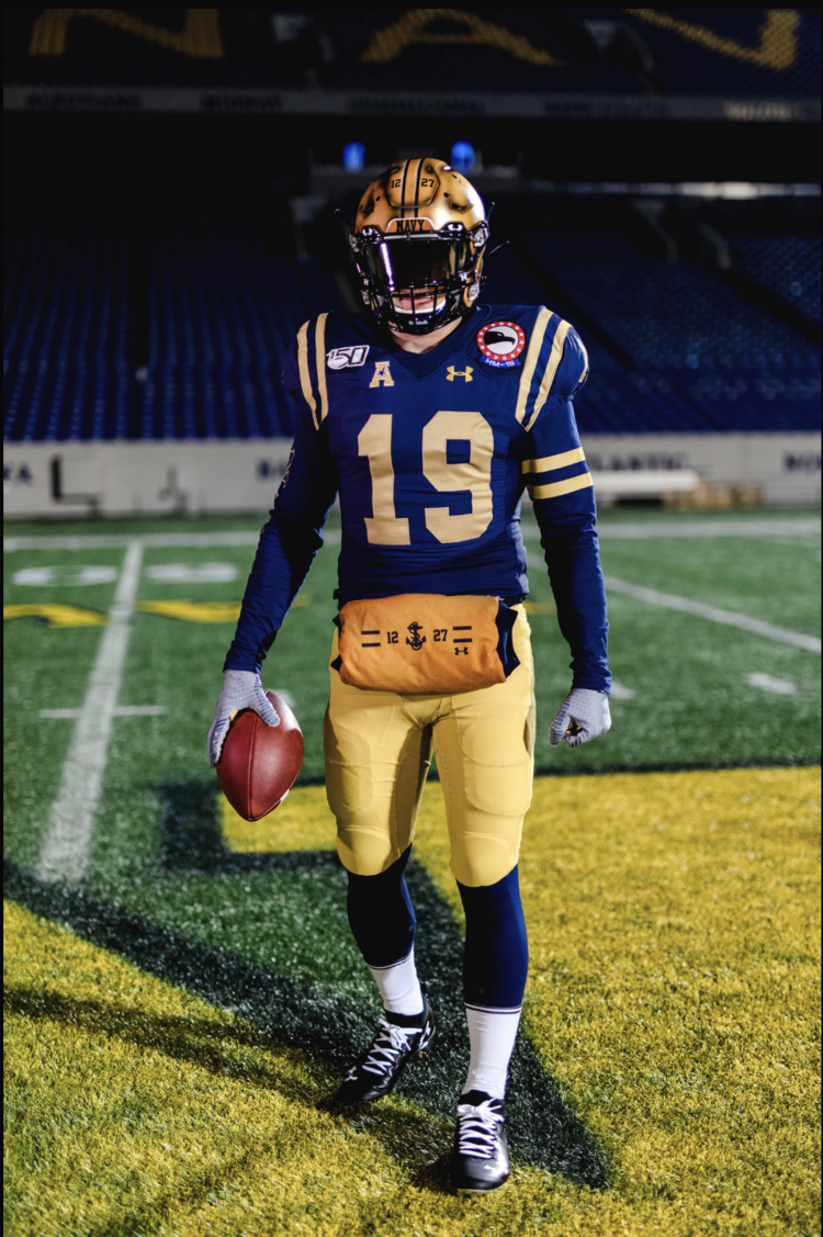 Navy Throwback Uniform For Army Vs Navy Game Navy Games